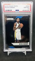 2016-17 Panini Prizm Basketball KEVIN DURANT #282 PSA 10 GEM MT POP 9 WARRIORS
