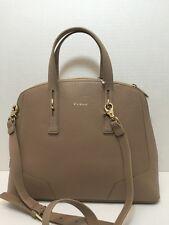 NWT FURLA PERLA Medium Convertible Leather Satchel Bag New Caramello  $398