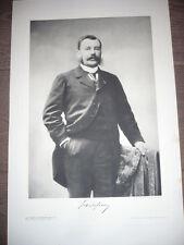 GRANDE GRAVURE 1904 JULES DELAFOSSE