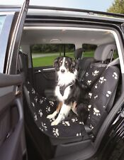 TRIXIE UNIVERSAL DOG CAR PROTECTION, SEAT COVERS, PAW PRINT DESIGN
