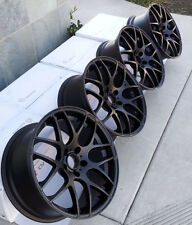 "19"" Eurotek Wheels For Lexus IS300 IS250 Camry 19x8.5 5x114.3 Inch Rims Set"