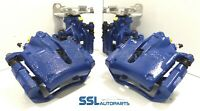 Ford Mondeo ST TDCI Front & Rear Blue Remanufactured Brake Calipers / Carriers