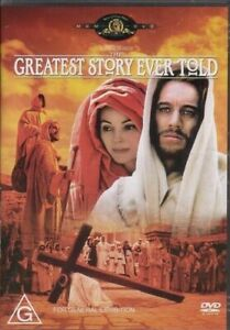 The Greatest Story Ever Told DVD 1965 New Sealed Australian Release