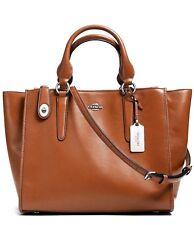 Coach Crosby Carryall Leather Expandble Bag w/Det/adj.Strap +DustBag NWT $395+tx