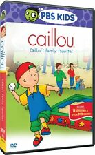 CAILLOU FAMILY FAVORITES New Sealed DVD PBS