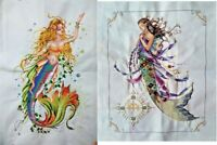 "New Completed Cross Stitch Finished Needlepoint""MERMAID""Home Decor Gifts"