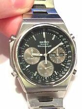 Raros temprano Vintage Seiko 7A38 Reloj para hombres con Cronógrafo T 700L en Pulsera Original