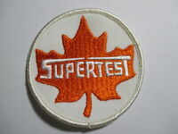 Supertest, Gas, Oil,  Patch, NOS, Vintage, Original, Embroidered 3 x 3 INCHES