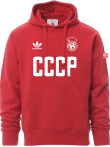 Felpa CCCP - Felpa da Calcio Unione Sovietica - Libera Replica LENIN GR ADIDAS