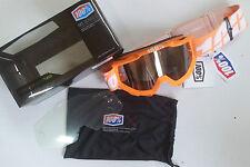 100% ACCURI reflejado en las Gafas Mx MOTOCROSS NARANJA KTM DH QUAD ENDURO