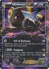 x1 Umbreon-EX - 55/124 - Holo Rare ex Pokemon XY Fates Collide M/NM