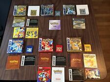 Pokemon Yellow+Red+Blue+Silver+Gold+Crystal (Game Boy) Complete + New Batteries