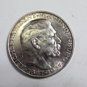 Hindenburg Silbermedaille, 1927 = 25 g                 M18