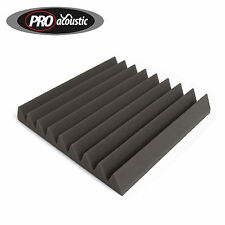 """1 AFW305 Pro Acoustic Foam Wedge Tile 12"""" 305mm Studio Sound RoomTreatment"""