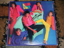 THE ROLLING STONES KEITH RICHARDS SIGNED DIRTY WORK VINYL ALBUM