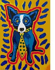 """Blue Dog George Rodrigue    """"I Got to Make a Splash""""      MAKE  OFFER    DSS"""