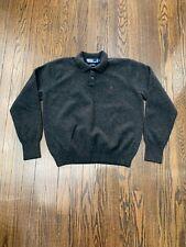 Polo Ralph Lauren Lambswool Sweater Men's Large Charcoal