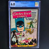 DETECTIVE COMICS #215 (DC 1955) 💥 CGC 6.0 💥 1ST BATMEN of ALL NATIONS! RARE