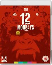 12 - TWELVE MONKEYS (1995 2018 Restored) Bruce Willis Brad Pitt - RgFree BLU-RAY