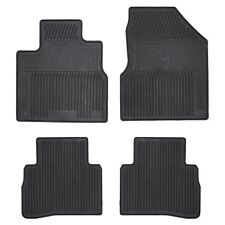 2009-2014 Nissan Murano Black All Weather Rubber Front & Rear Floor Mats OEM NEW