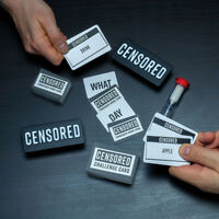 Censored Word Game Explanation Describing Christmas After Dinner Party Game Gift