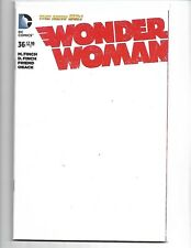 Wonder Woman #36 Blank Sketch Variant Cover (v27)