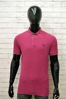 Polo Uomo FRED PERRY Taglia Size M Maglia Maglietta Camicia Shirt Man Cotone