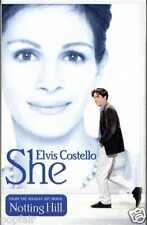 ELVIS COSTELLO - SHE (FROM OST 'NOTTING HILL') 1999 EU CASSINGLE CARD SLIP-CASE