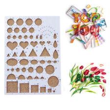 Paper Quilling Template Mold Board DIY Craft Crimper Art Tools Scrapbook-Handmad