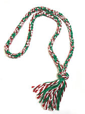 Christmas Neck Rope Bridleless Riding Horse Tack red green ane white Neck Rope