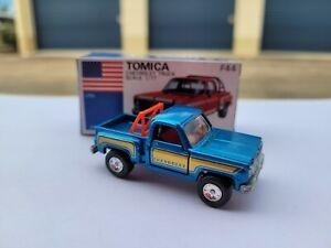 TOMICA F44 - CHEVROLET TRUCK [METALLIC BLUE] ABSOLUTELY MINT VTHF JAPAN