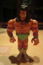 THE ULTIMATE WARRIOR. EL ULTIMO GUERRERO. WWF. HASBRO. 1990
