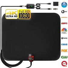 [Newest 2019] Amplified HD Digital TV Antenna Long 65-80 Miles Range – Support 4