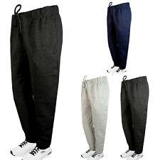 Mens Fleece Sweatpants Joggers Black Blue Gray Charcoal Activewear GYM Work Out