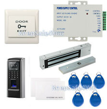 TCP/IP Color Display Fingerprint access control+time attendance terminal Systems