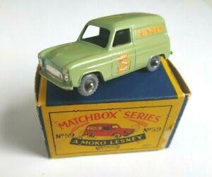 Matchbox Ford Thames Singer Van RW 1 -75 N 59a in Mint + excellenter OVP Box TOP