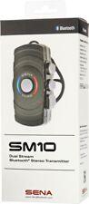 Sena SM10 Motorcycle Motorbike Dual Stream Bluetooth Stereo Transmitter SM10-01