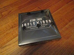 Star Trek Inflexions Starfleet's Finest Factory Sealed Hobby Box - 3 Autographs
