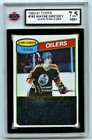 1980-81 Topps #182 Wayne Gretzky TL **Unscratched** Graded 7.5 NM+ (*2020-325)