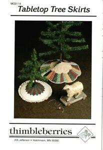 Thimbleberries * Tabletop Tree Skirts * Pattern * NEW