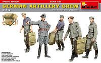 MIN35192 - Miniart 1:35 - German Artillery Crew - Special Edition