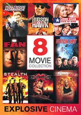 Explosive Cinema: 8 Movie Collection (DVD, 2013, 4-Disc Set) New Never Watched