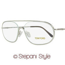 Tom Ford Eyeglasses TF5155 018 Size:55mm Shiny Rhodium 5155
