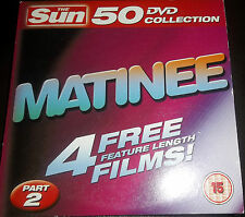 DVD - MATINEES IN LOVE AND WAR,CRAZY MOON,ANOTHER PAIR OF ACES,ARCHERS ADVENTURE