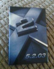 X MEN 2 MOVIE PROMOTION PIN 2003
