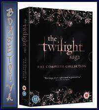 THE TWILIGHT SAGA - COMPLETE COLLECTION *** BRAND NEW DVD BOXSET ***