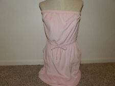 Womens swimsuit coverup Pink Swim Suit cover up Beach cover up size M New