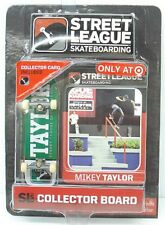 Street League Skateboarding Pro Series 1 Green Skateboard Mikey Taylor Card