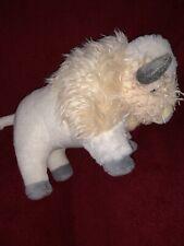 "St. Labre Indian School White Buffalo Bison Plush 10"" Stuffed Animal"