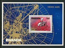 Rwanda Scott #827 MNH S/S Viking Mars Mission SPACE CV$60+
